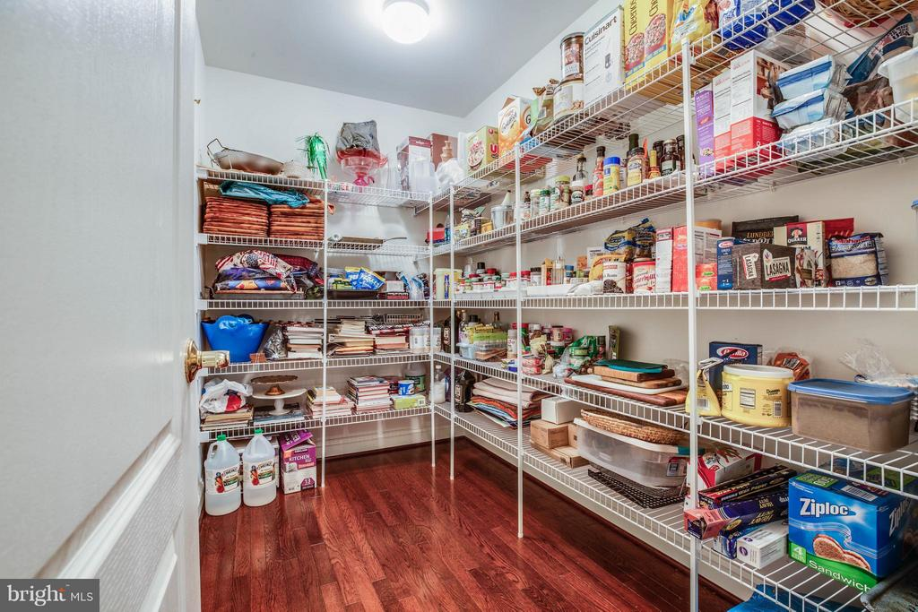 Large walk-in Kitchen Pantry - 12910 MACNEIL CT, FREDERICKSBURG