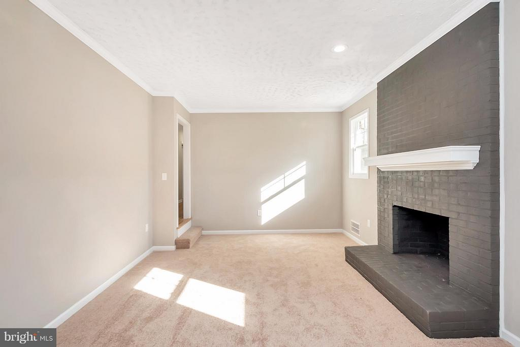 Family Room - 12262 PAIGE RD, WOODFORD