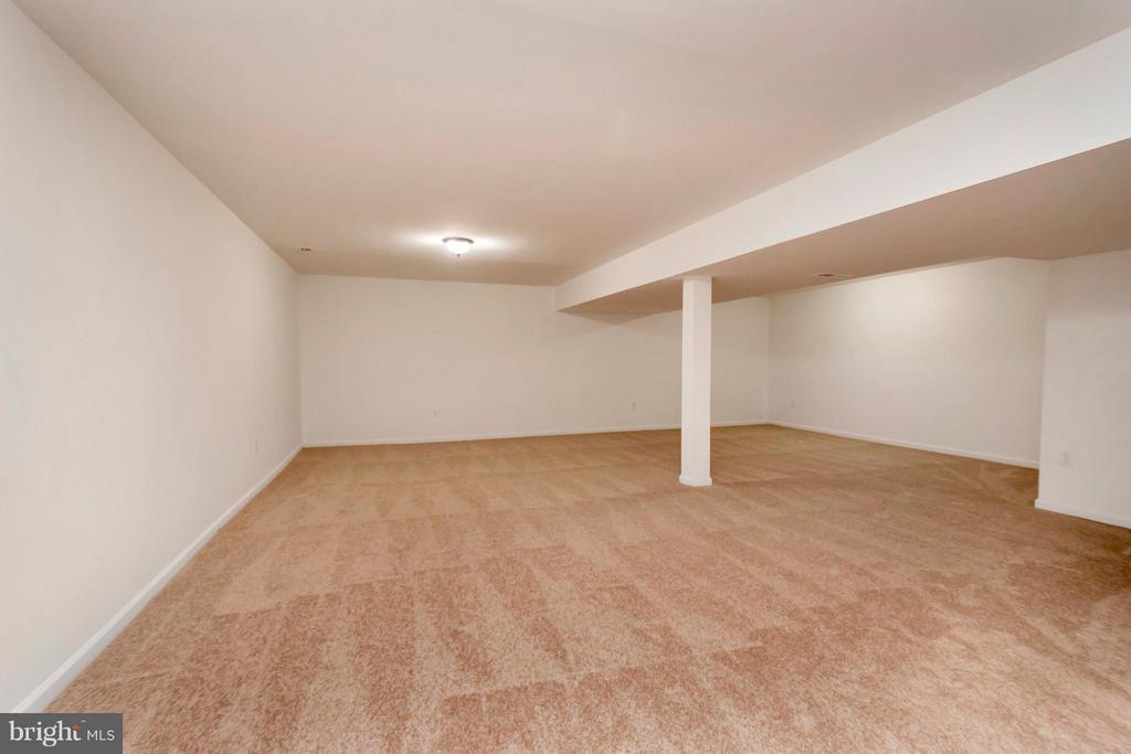 Basement Recreation Room - 12262 PAIGE RD, WOODFORD