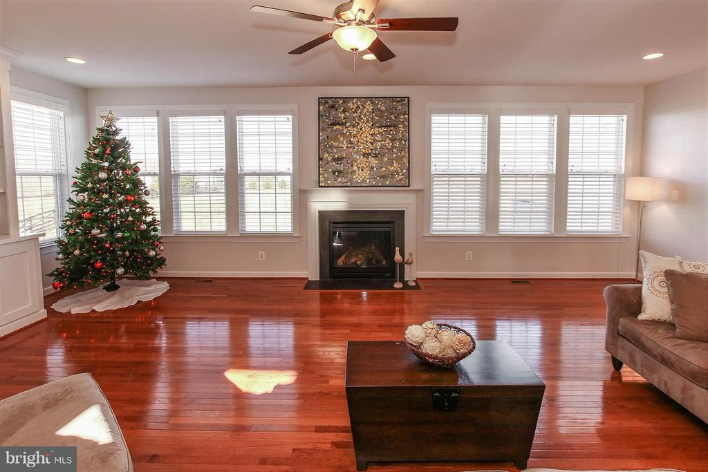 Cozy gas fpl and wall of windows with mtn views - 36766 WATERFRONT LN, PURCELLVILLE