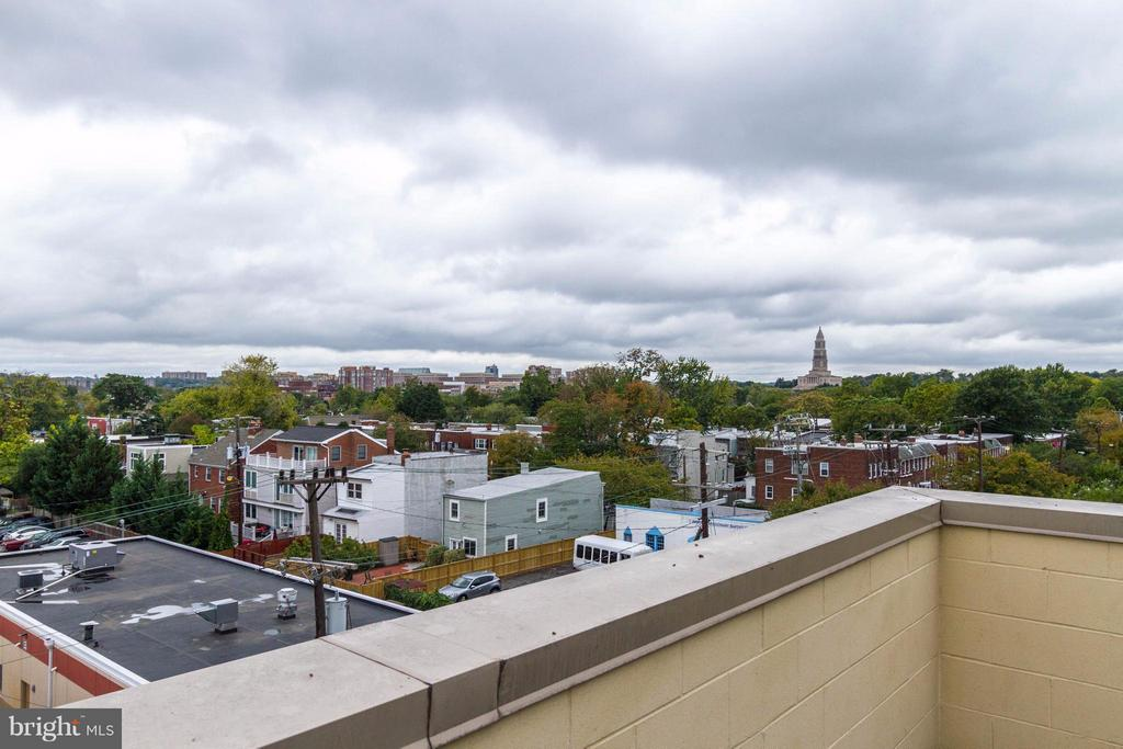 Rooftop view - 1111 ORONOCO ST #439, ALEXANDRIA