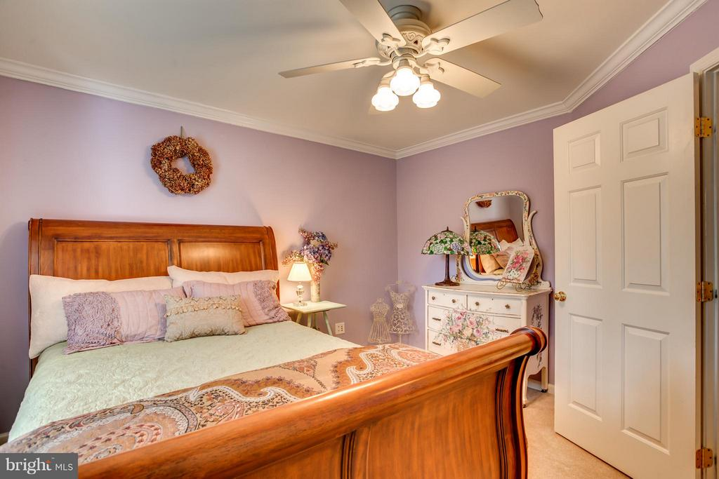 Bedroom Four has water view of Pohick Creek - 9160 STONEGARDEN DR, LORTON