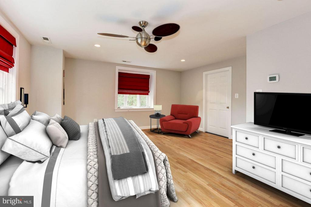 Master Bedroom (2 of 2) - 7818 CUSTER RD, BETHESDA