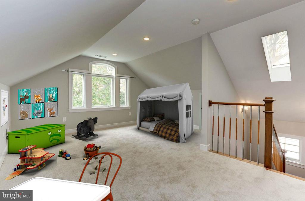 Recreation Room - 7818 CUSTER RD, BETHESDA