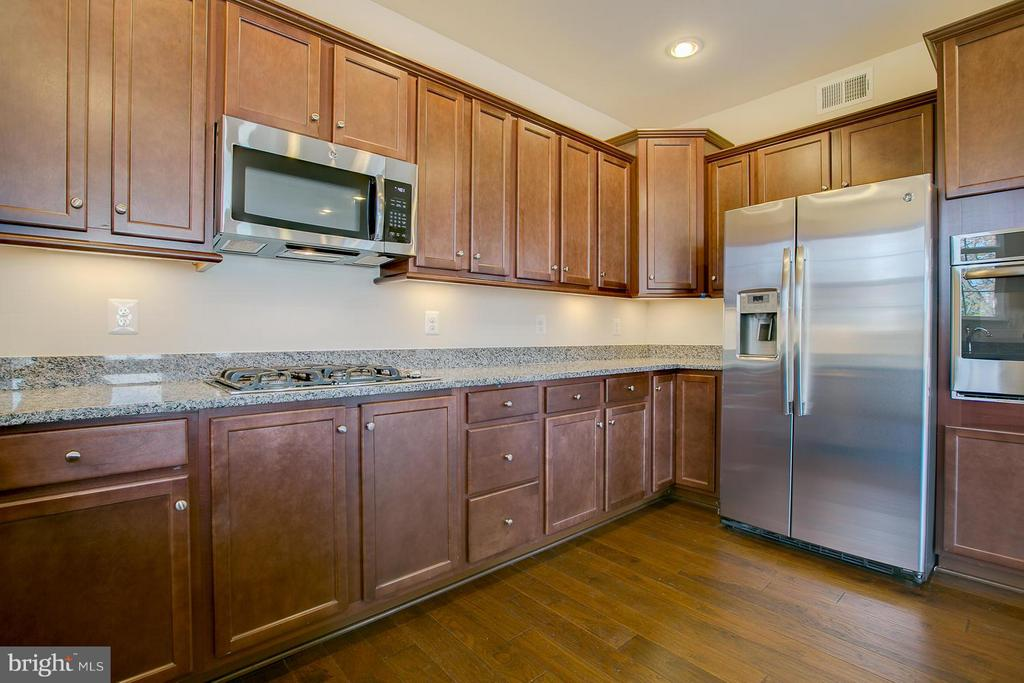 Under Cabinet  Lighting & Crown Molding - 176 VERBENA DR, STAFFORD