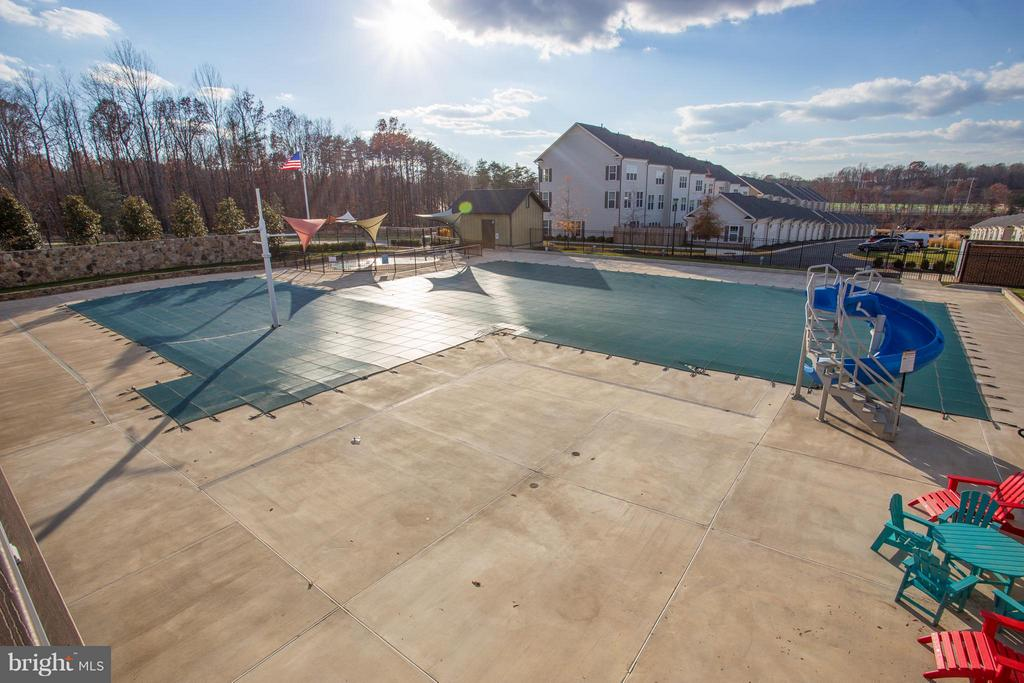 Community Pool - 176 VERBENA DR, STAFFORD