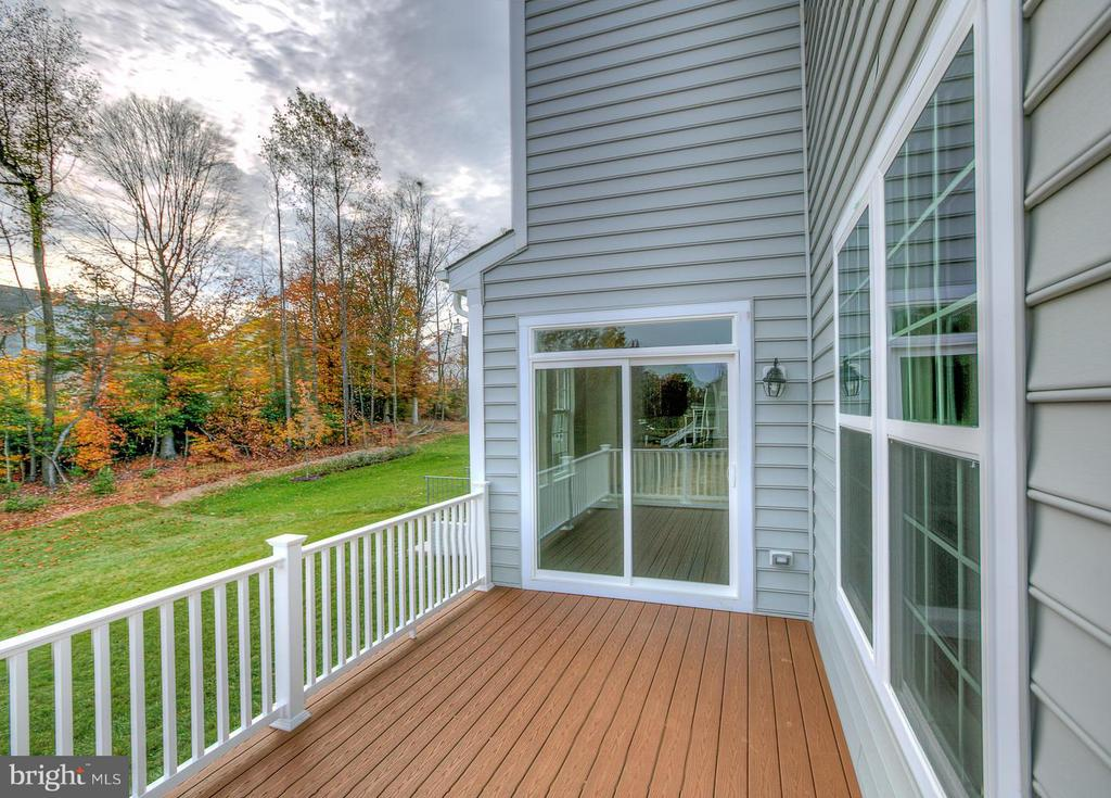 No Maintenance 9x15 Deck. - 176 VERBENA DR, STAFFORD