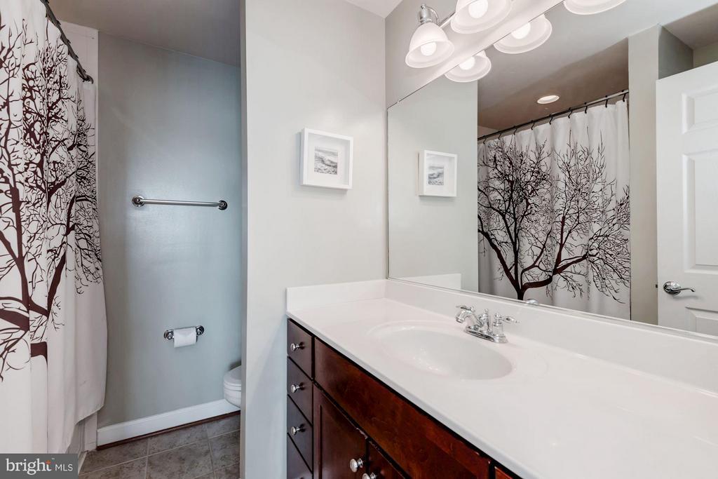 MASTER BATHROOM - 4113 FOUR MILE RUN DR S #403, ARLINGTON