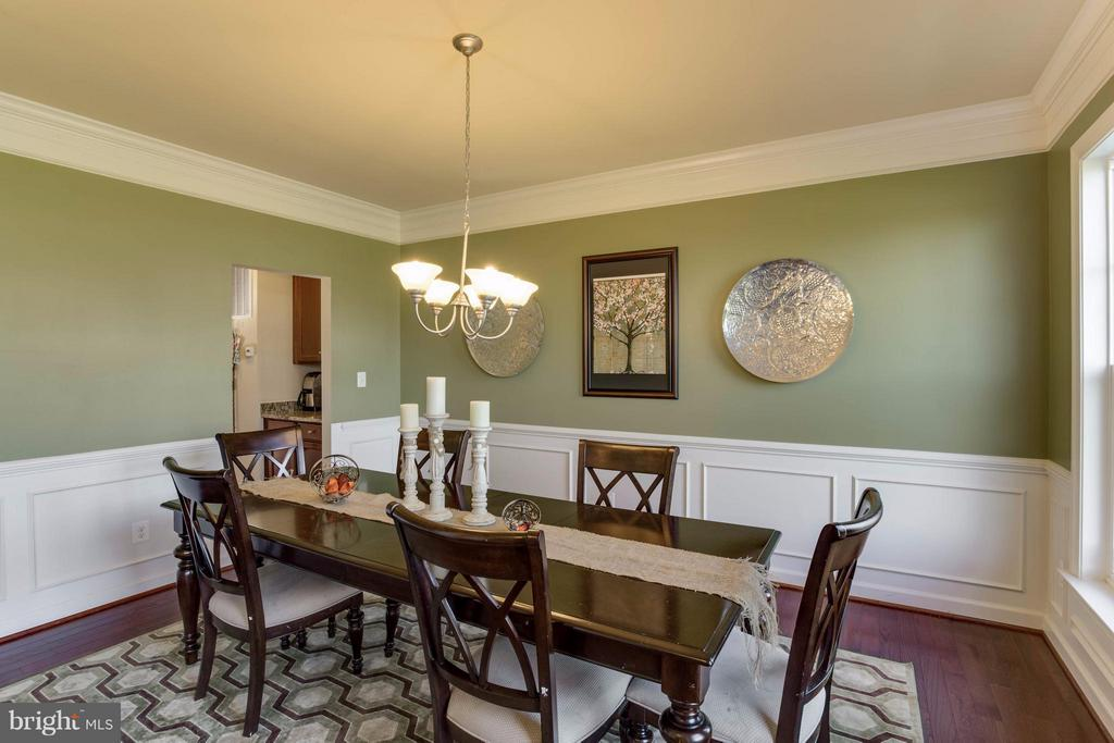 Dining Room - 7364 TUCAN CT, WARRENTON
