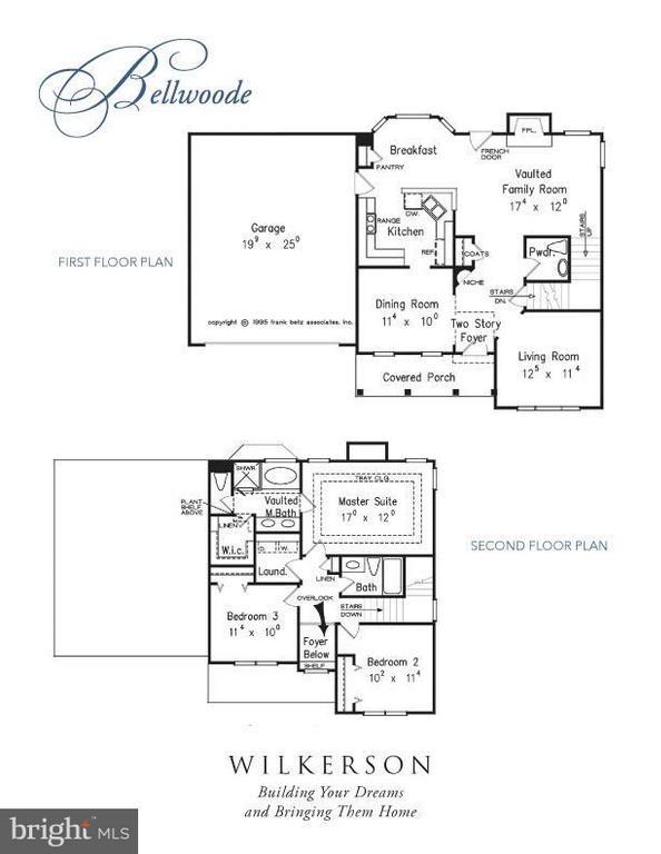 Floor plan.  Square footage different than plan - 13185 GLEBE PL, NEWBURG