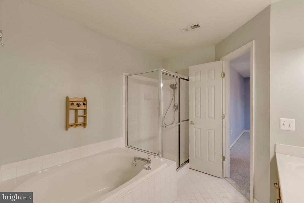 Bath (Master) - 13866 REDFORD LN, WOODBRIDGE