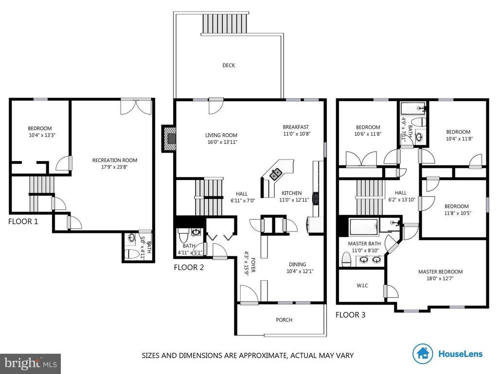 Floor Plans do not show unfinished storage/utility - 13866 REDFORD LN, WOODBRIDGE