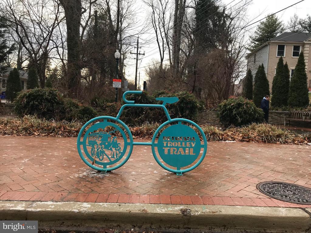 Bethesda trolley trail nearby - 5801 EDSON LN #202, ROCKVILLE
