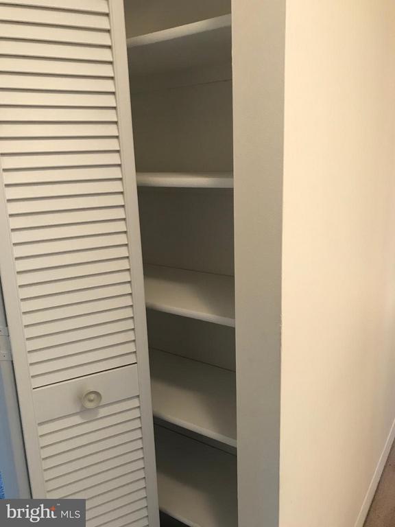 linen closet - 5801 EDSON LN #202, ROCKVILLE