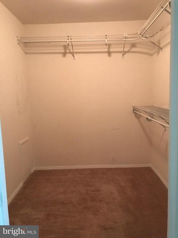 large walk in closet in master - 5801 EDSON LN #202, ROCKVILLE