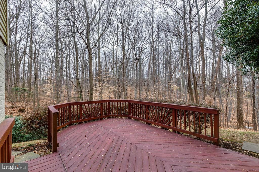 Lower deck, walk-out from the basement - 7732 WHITE WILLOW CT, SPRINGFIELD