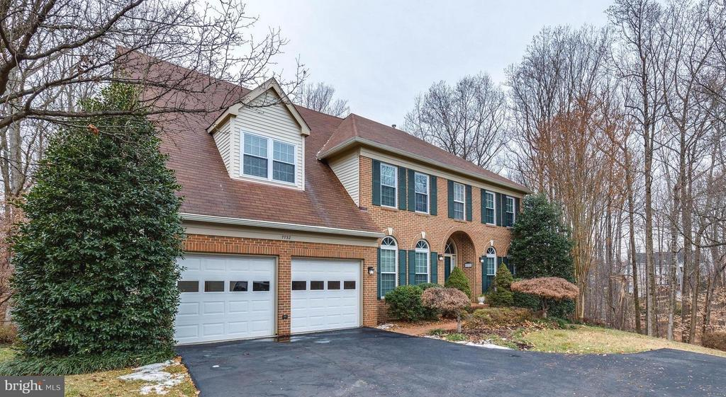 Beautiful Grand Colonial - 7732 WHITE WILLOW CT, SPRINGFIELD