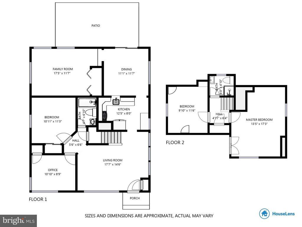 Floorplan - 6811 DUKE DR, ALEXANDRIA