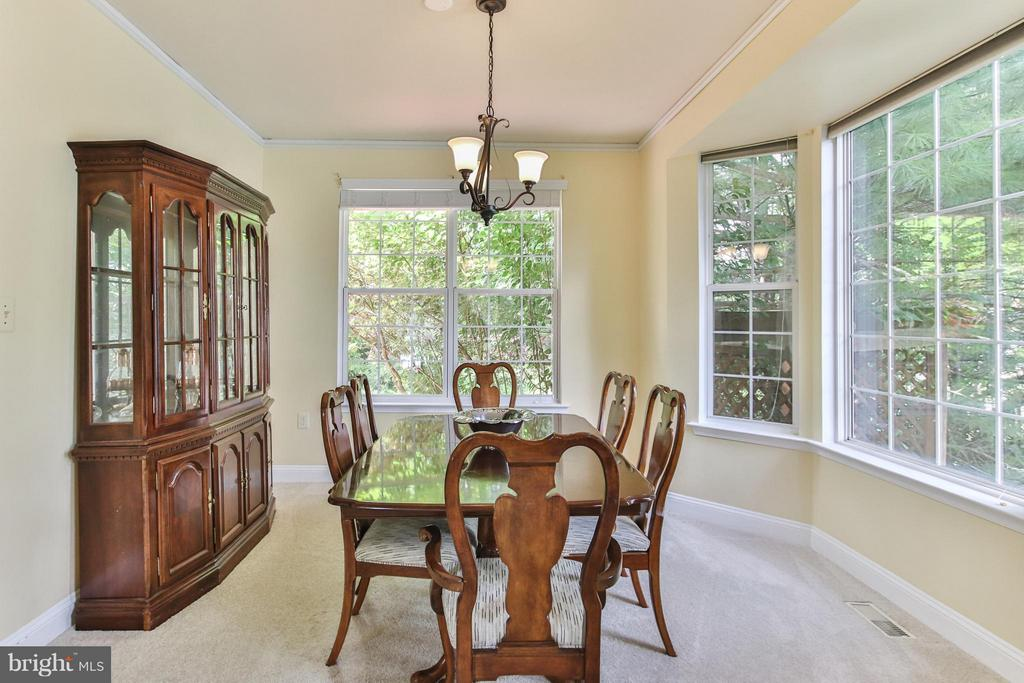 Peaceful wooded views - 1235 FEATHERSTONE LN NE, LEESBURG