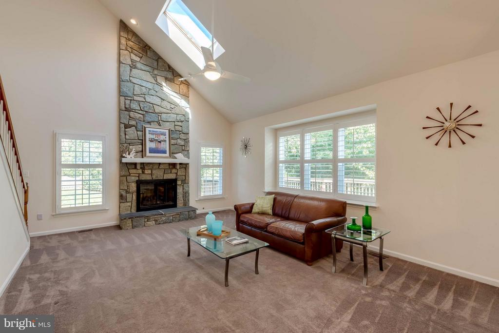 Family Room - 1286 GATESMEADOW WAY, RESTON