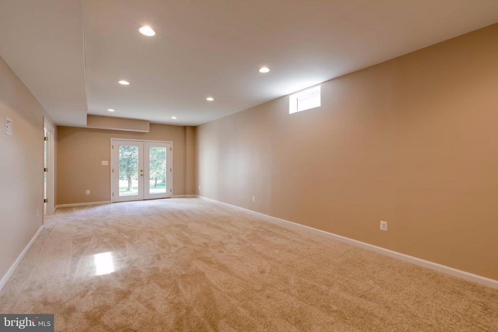 Lower Level Walk Out Rec Room - 1286 GATESMEADOW WAY, RESTON