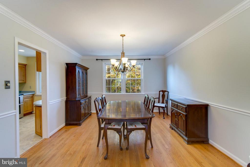 Dining Room - 4708 EXETER ST, ANNANDALE