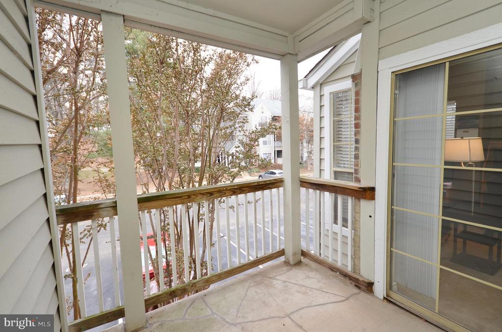 Balcony - 3909 PENDERVIEW DR #1924, FAIRFAX
