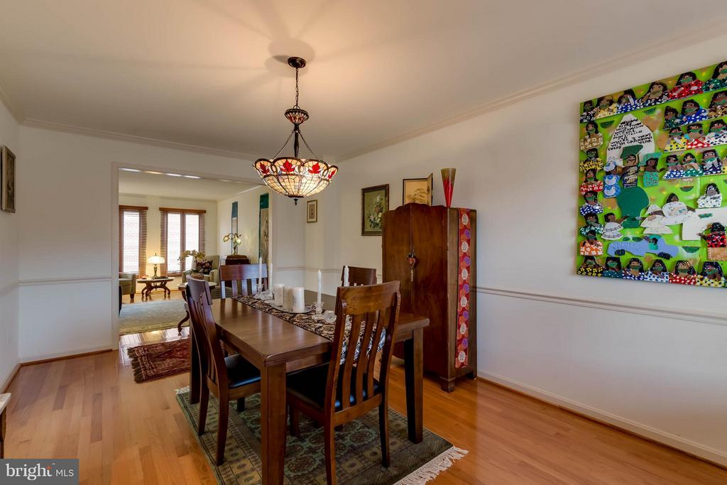 Dining Room - 10137 TURNBERRY PL, OAKTON