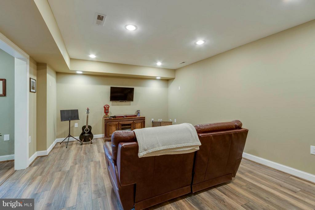 Basement~Media Room - 137 SEQUESTER DR, STAFFORD