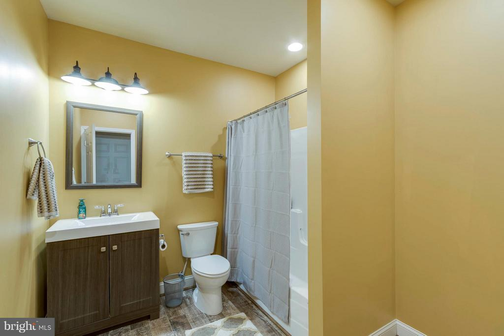 Basement Full Bath - 137 SEQUESTER DR, STAFFORD