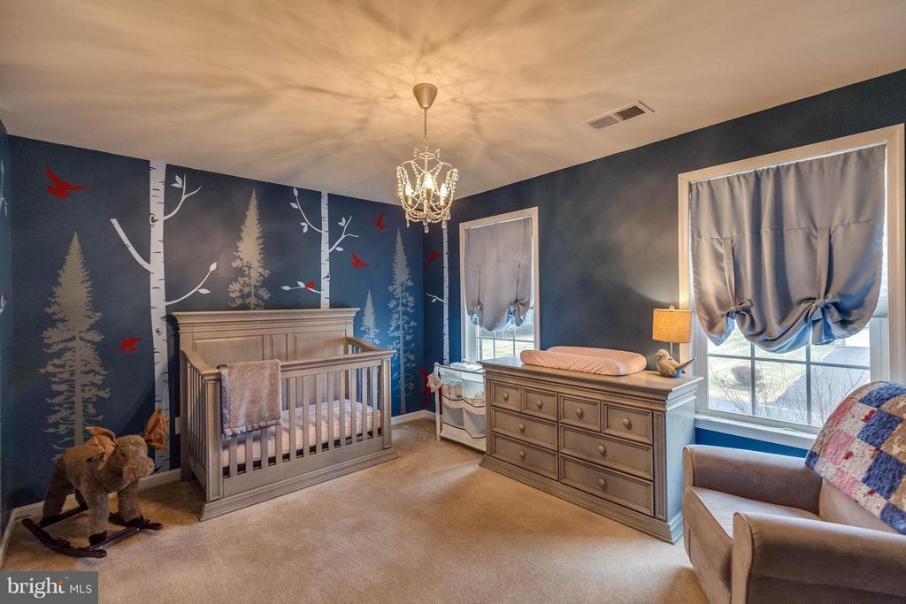 Bedroom #4 - CURRENTLY USED AS NURSERY - 5504 DOUBS RD, ADAMSTOWN