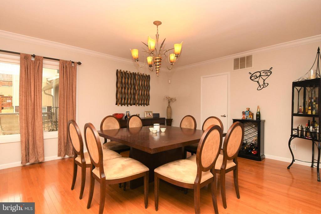 Dining Room - 10516 ARROWOOD ST, FAIRFAX