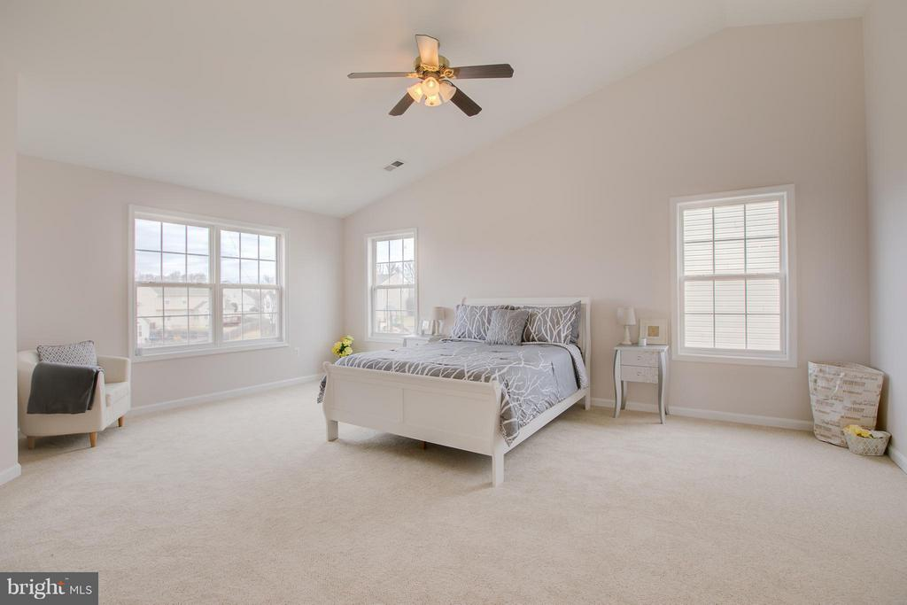 Magnificent master bedroom with cathedral ceiling - 31 LANDMARK DR, STAFFORD