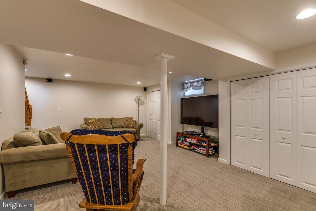 RECREATION ROOM - 17314 PINK DOGWOOD CT, MOUNT AIRY