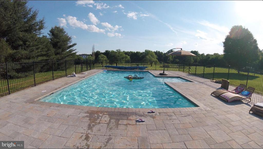 20x40  IN-GROUND SALT WATER POOL - 17314 PINK DOGWOOD CT, MOUNT AIRY