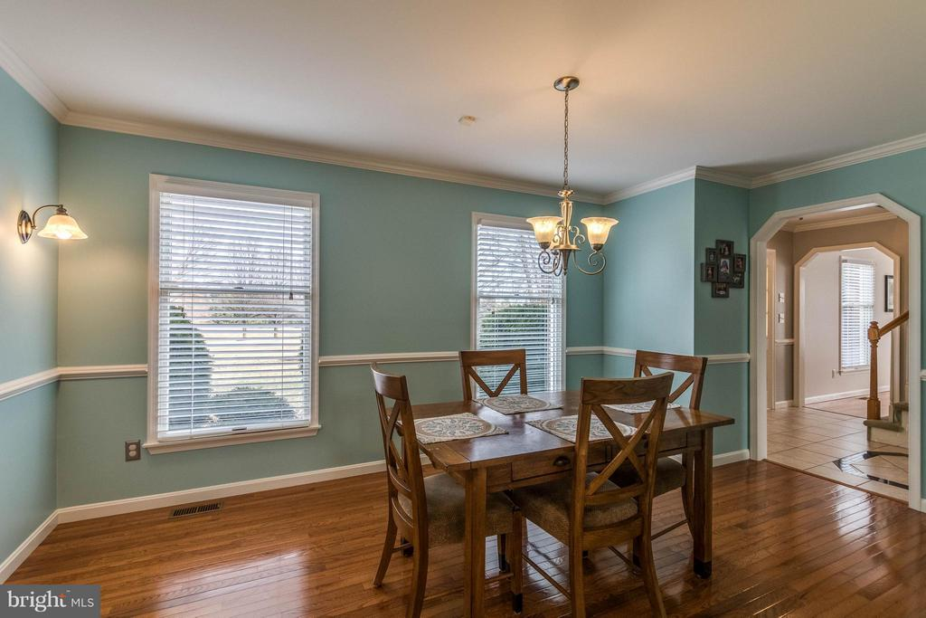 Dining Room - 17314 PINK DOGWOOD CT, MOUNT AIRY