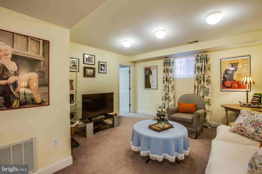Lower Level Family Room - 8312 LEE JACKSON CIR, SPOTSYLVANIA
