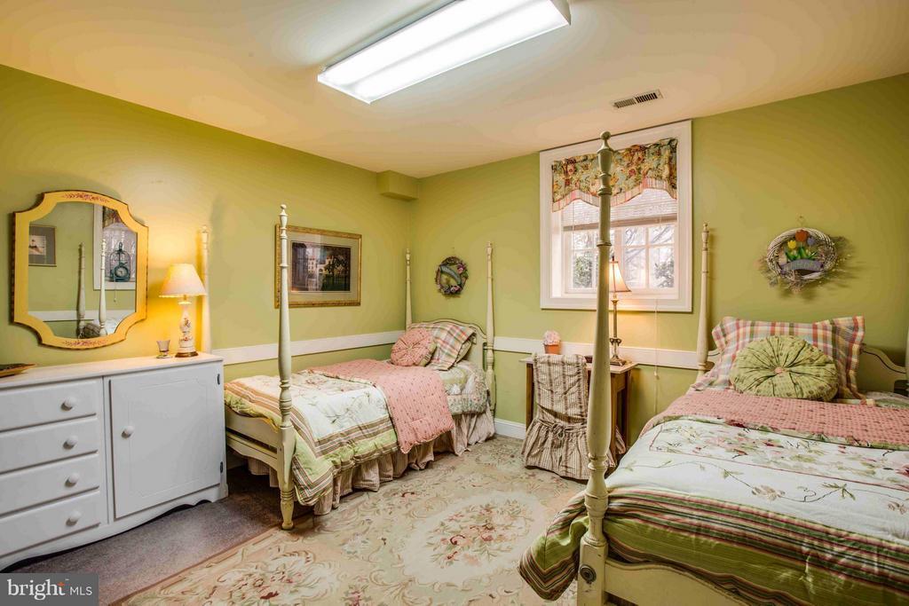 Lower Level Bedroom - 8312 LEE JACKSON CIR, SPOTSYLVANIA
