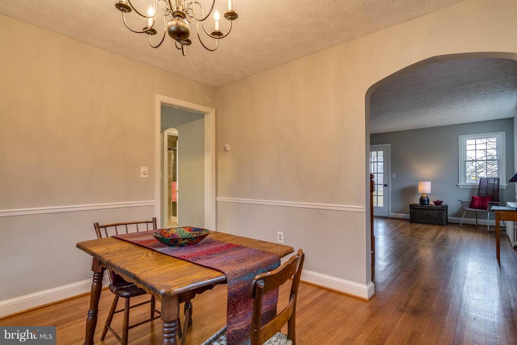 Spacious dining room - 350 ORCHARD DR, PURCELLVILLE