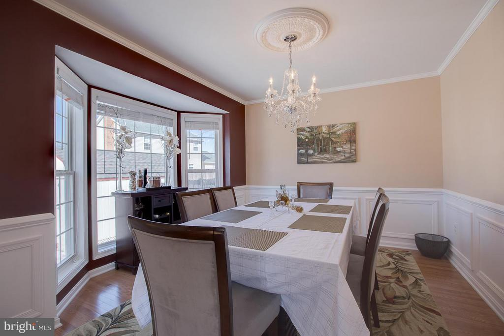Formal Dining Room is elegant and spacious - 83 TANTERRA DR, STAFFORD