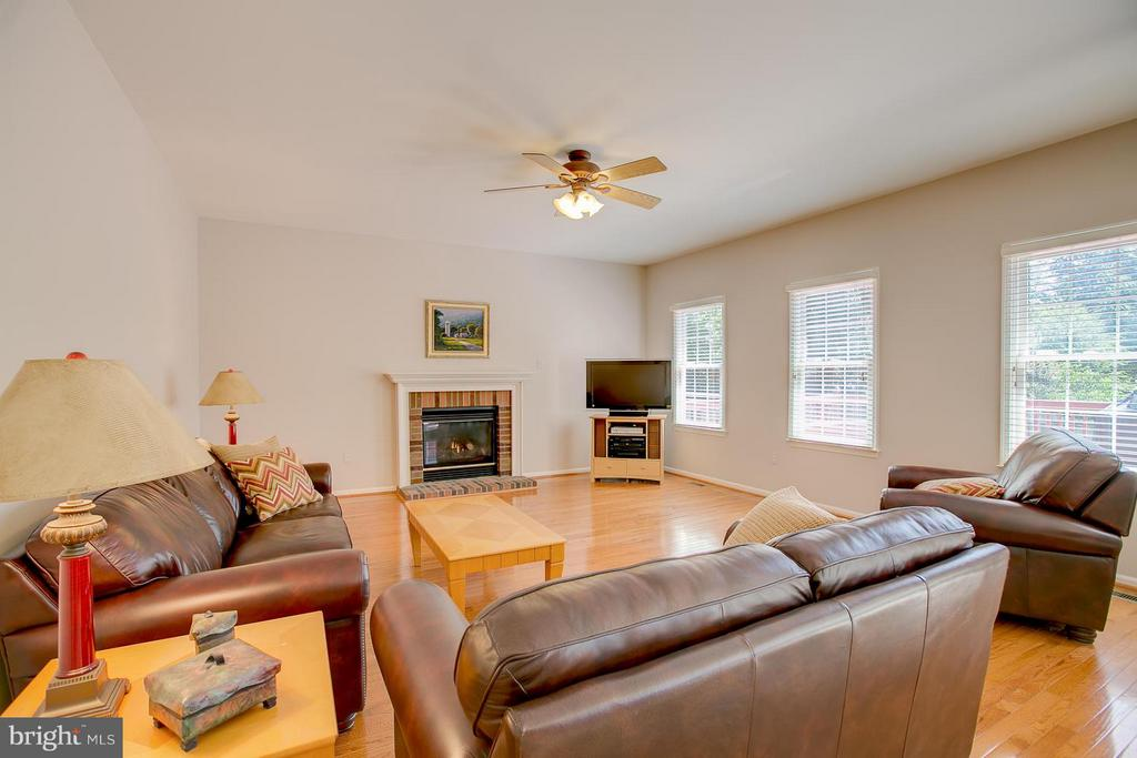 Step-down Family Room With Gas Fireplace - 7 NEVILLE CT, STAFFORD
