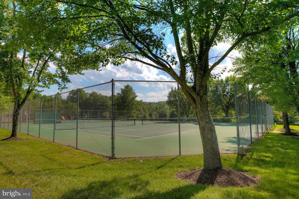 Community Tennis Courts - 7 NEVILLE CT, STAFFORD