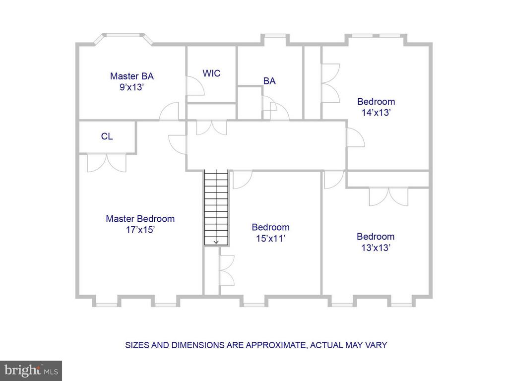 Upper Floor - 9830 QUAIL RUN CT, FAIRFAX STATION
