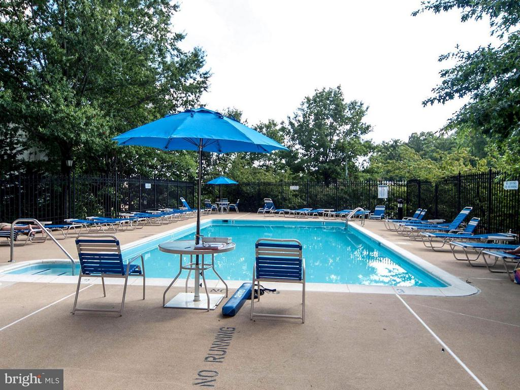 Outdoor pool - 1276 WAYNE ST #1221, ARLINGTON