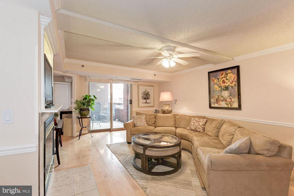 Spacious living room (over 1,000 sq ft) - 1276 WAYNE ST #1221, ARLINGTON