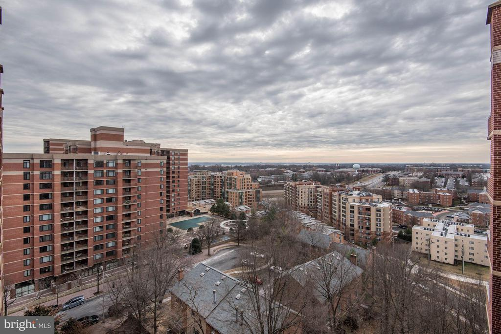Views to the south - 1276 WAYNE ST #1221, ARLINGTON