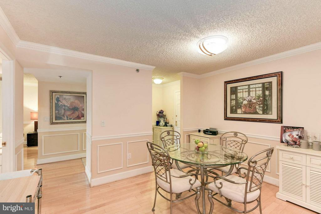 Large dining area - 1276 WAYNE ST #1221, ARLINGTON