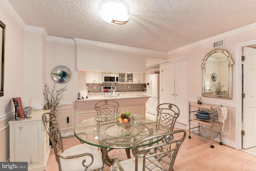 Dedicated dining room - 1276 WAYNE ST #1221, ARLINGTON