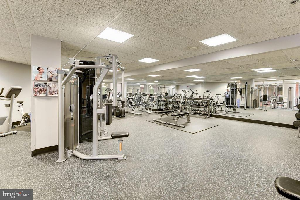 Newly-renovated fitness center - 1276 WAYNE ST #1221, ARLINGTON