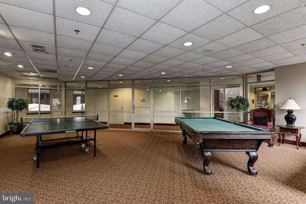 Game room - 1276 WAYNE ST #1221, ARLINGTON